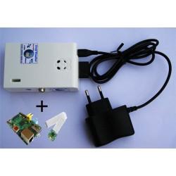 Mini-Serveur + Webcam HD intérieure - 100% Wifi