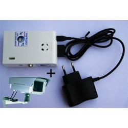 Mini-Serveur + Webcam HD extérieure