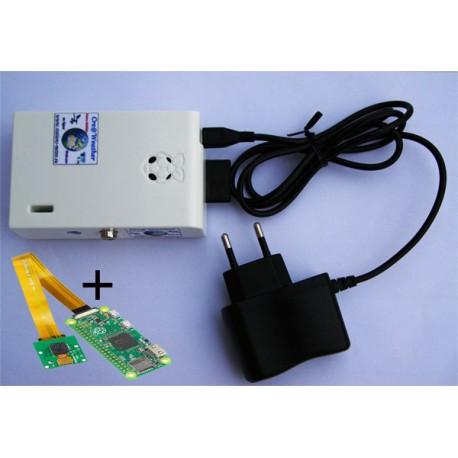 Mini-Serveur + Webcam intérieure Pi Zéro